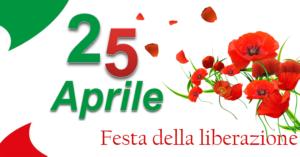 25 Aprile 2020 – Festa della Liberazione