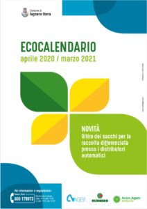 Calendario raccolta rifiuti 2020-2021