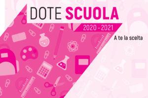 Bando Dote Scuola – Materiale Didattico a.s. 2020/2021 e Borse di Studio a.s. 2019/2020