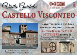 Visite al Castello i mercoledì di settembre