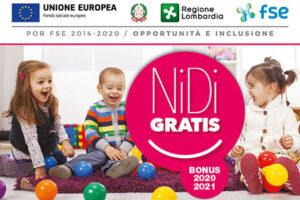 Avviso per l'adesione delle famiglie alla misura Nidi Gratis – Bonus 2020/2021