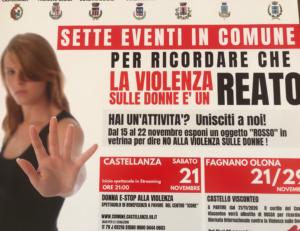 Sette eventi in comune contro la violenza sulle donne