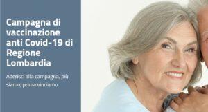 Campagna di vaccinazione anti Covid-19 di Regione Lombardia