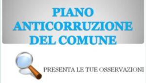 Avviso pubblico di consultazione per l'aggiornamento del P.T.P.C.T. per il triennio 2021 – 2023
