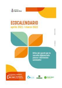 Distribuzione nuovo calendario raccolta differenziata aprile 2021-marzo 2022