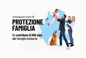 Protezione Famiglia, bando regionale aperto dal 15 al 22 aprile