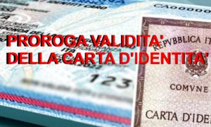 Proroga della validità carta di identità: scadenza al 30 settembre 2021